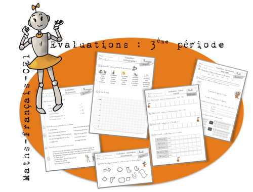Evaluations CE1: période 3