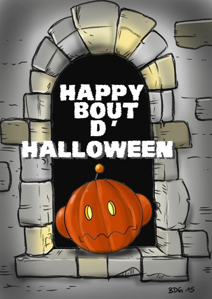 Happy Bout d'Halloween BDG