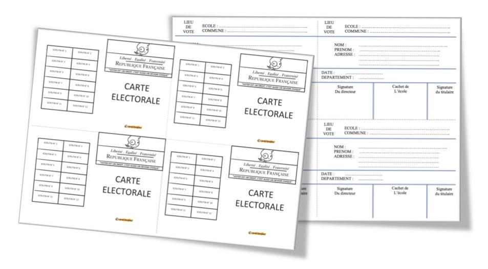 carte d'electeurs