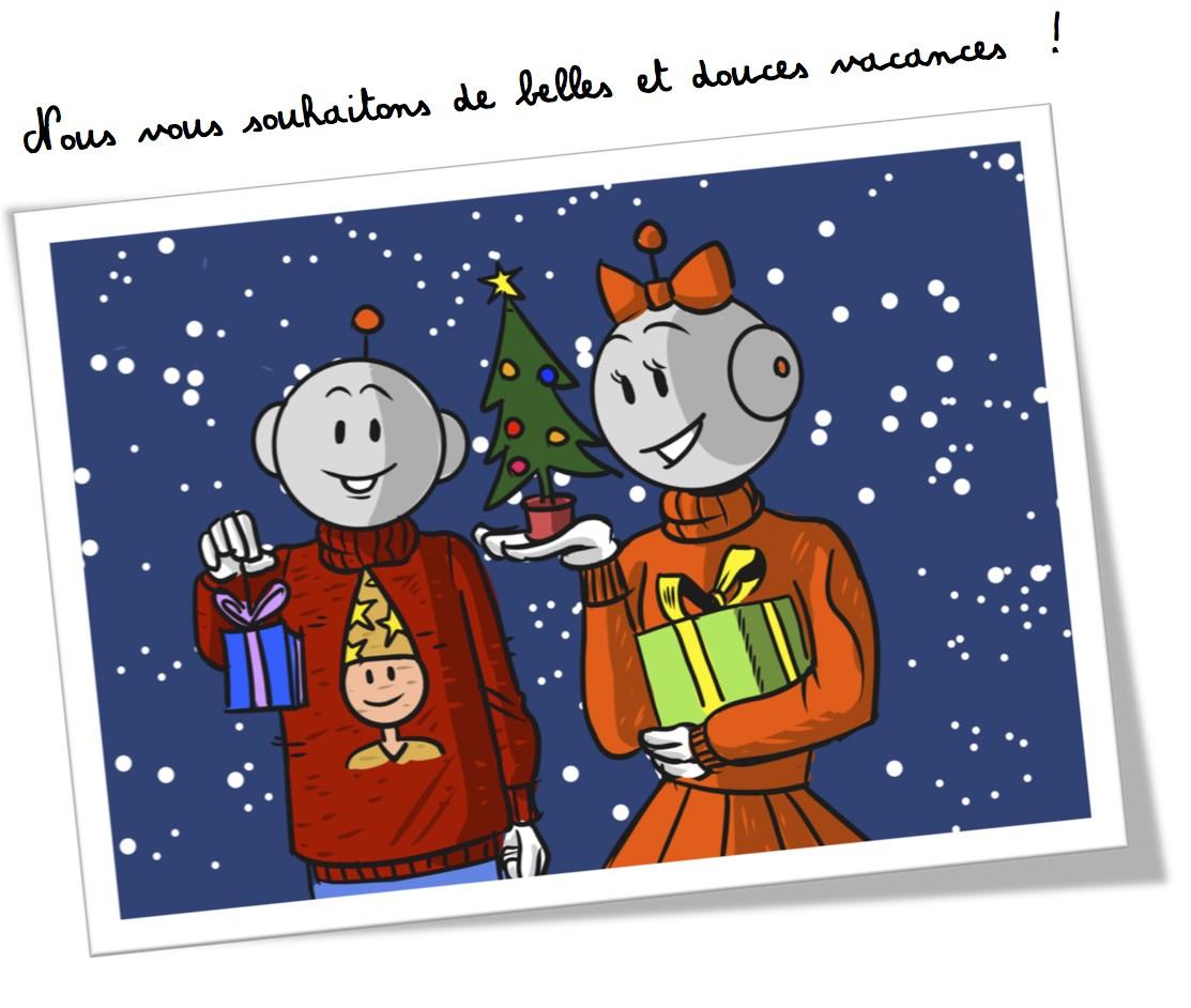 Bonnes vacances Noel 2015