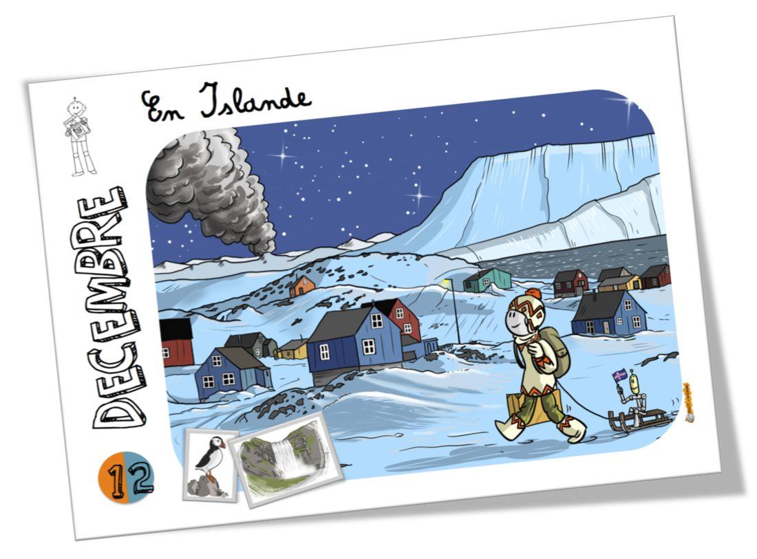 Decembre Islande Tirobot
