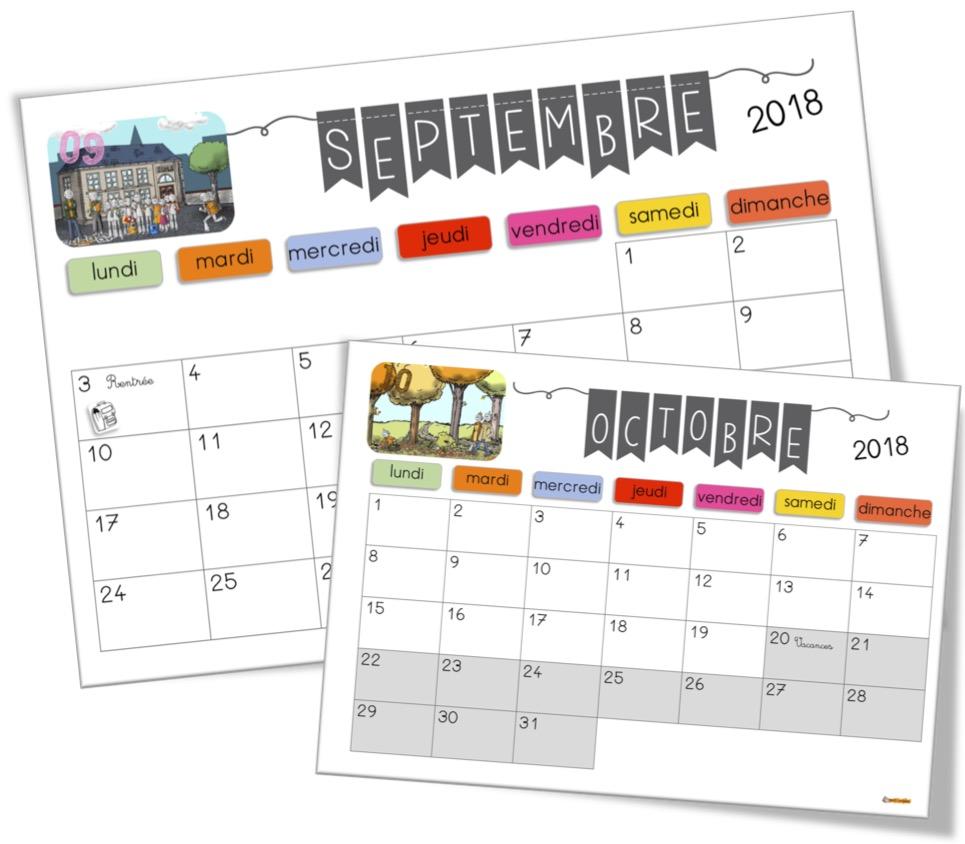 Les calendriers Bout de gomme 2018 2019 sont arrivés ! | Bout de