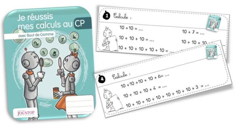 Rituels Calculs Jocatop CP | Bout de gomme | Bloglovin'
