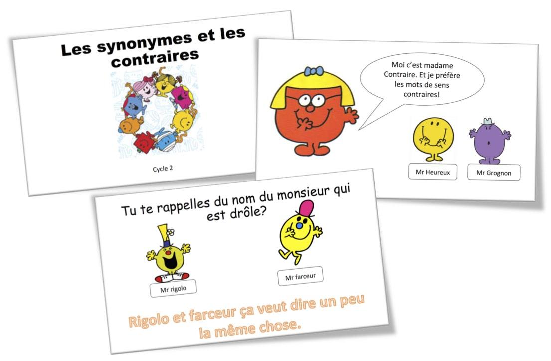 Vocabulaire Lecons Ce1 Bout De Gomme