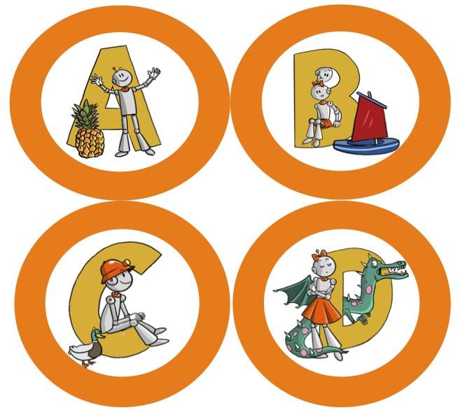 Alphabet Bout De Gomme